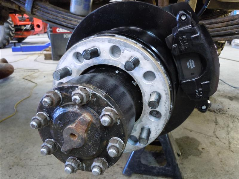 Used Semi Wheels And Adapters To Chevy Dually For Sale ...